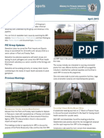 2015 April Plant Imports and Exports Newsletter
