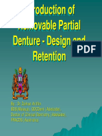Introduction of Removable Partial Denture - Design and retention update no case.pdf