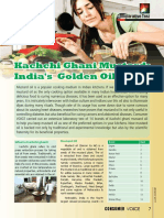 Kachchi Ghani Mustard India's Golden Oil