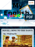 Novel Sing To The Dawn - by Miao
