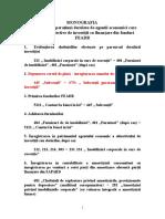 Monografie Feadr Agenti