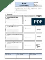 1. SOP Audit Internall