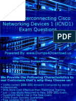 Pass4sure Study Guide For Cisco 100-101 Exam