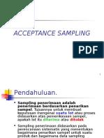 Modul 6 Acceptance Sampling