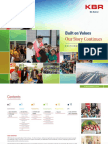 KBR Sustainability Report 2014