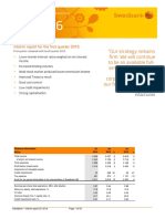 Swedbank Interim Report Q1 2016