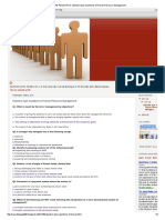 HUMAN RESOURCE_ Objective Type Questions of Human Resource Management