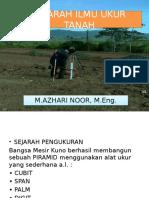 Sejarah Ilmu Ukur Tanah