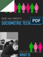 -Lesson 14 Sociometric Techniques