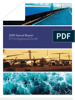 ITT Corporation's 2009 Annual Report