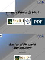Finance Primer 2014-15