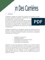 Gestion Des Carrieres RH
