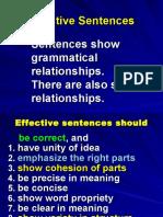 3Effective Sentences