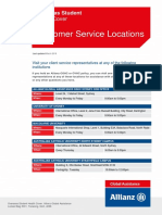 Customer Service Locations NSW March 2016