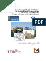 Strategie Transport Chisinau 2014