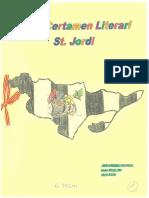 David Carmona 1r Premi 4t B Certamen Literari de Sant Jordi