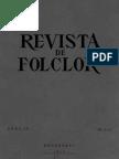 Revista de Folclor