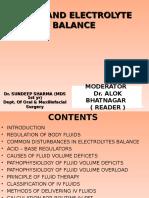 Body Fluids Electrolytes- Sundeep Final