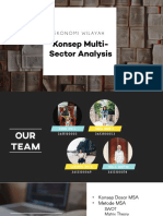 Ppt Multi Sector Analysis