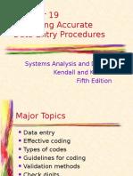 Ed5 KK - Chapter 19 Design Data Entry