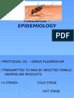 Malaria - Epidemiology