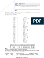 GED 2860 - Rede Compacta - Separador Vertical Polimérico