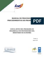 Manual de Procesos y Procedimientos de Producción