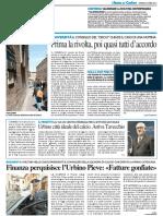 Prima la rivolta, poi quasi tutti d'accordo / Urbino città ideale del calcio, arriva Tavecchio - Il Resto del Carlino del 22 aprile 2016