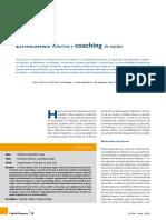 Emociones Colectivas y Coaching de Equipo