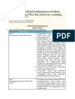 Contoh Sintak Model Pembelajaran Problem Based Learning