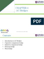- Chapter 4 - Ac Bridges