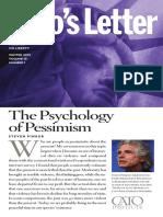 The Psychology of Pessimism