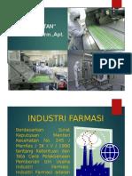 Farmasi Industri  Peralatan