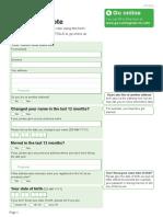 UK Voter Registration Form (2015)