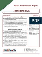 Concurso Itupeva 2016 - Engenheiro Civil Gab2