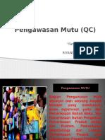 Farmasi Industri  Pengawasan Mutu (QC)