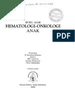 Buku Ajar Hematologi-Onkologi Anak