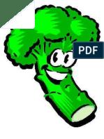 dibujo brocoli