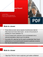 Data Guard Performance
