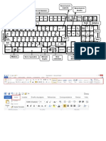 teclado rotulado