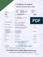1-Doxycyline Hyclate BP