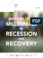 NYC Millennials in Recession and Recovery