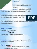Agency Rule