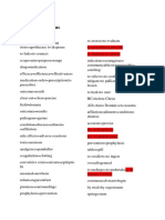 Synonyms for pharmacy specific terms