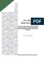 EBC5612 1st Manual