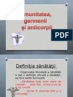 Imunitate,germeni,anticorpi