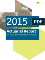 Actuarial Report for the Bermuda Health Council