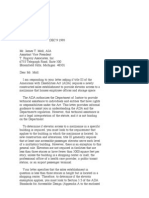 US Department of Justice Civil Rights Division - Letter - tal433