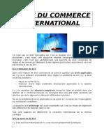 Droit Du Commerce International 1