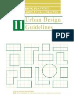 Urban Design Guideline